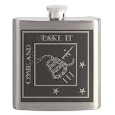 Come and Take It - Black Diamond Flask