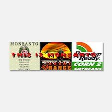 Dump Monsanto Car Magnet 10 x 3