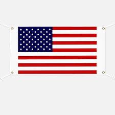 American Flag Car Magnet Banner