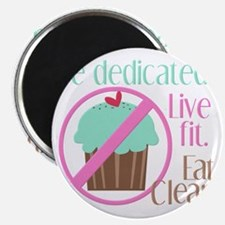 No Cupcakes Allowed! Magnet