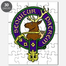 MacDonald of Glenbogle Family Crest Puzzle