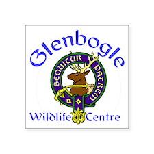 "Glenbogle Wildlife Centre Square Sticker 3"" x 3"""