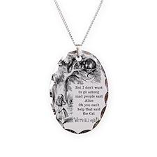 Alice in Wonderland Cat Necklace