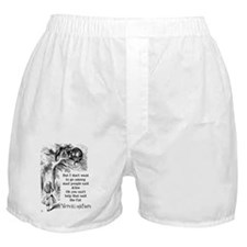 Alice in Wonderland Cat Boxer Shorts