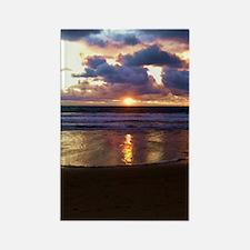 Marina del Rey Sunset Rectangle Magnet