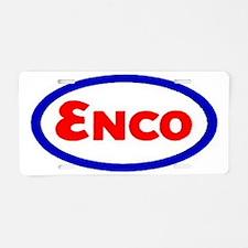 Enco Aluminum License Plate