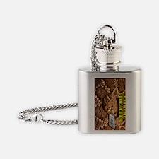 Extreme Geocacher Flask Necklace