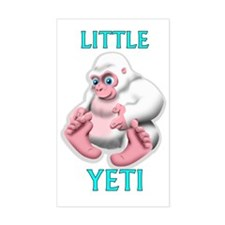 LITTLE YETI Decal