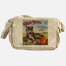 Tiger Oranges Messenger Bag