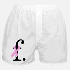 F. Breast Cancer Boxer Shorts