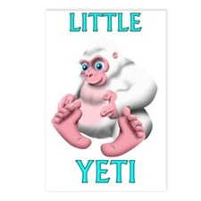 Little Yeti Postcards (Package of 8)