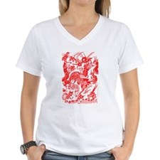 Red Multidragon Shirt