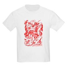 Red Multidragon T-Shirt