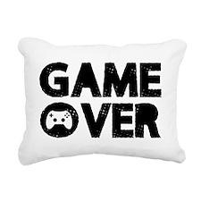 Game Over Rectangular Canvas Pillow