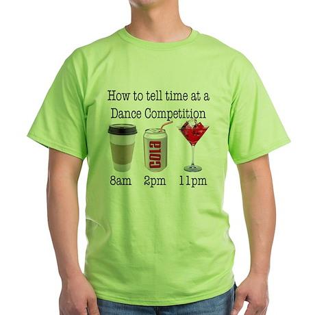 """Comp Time"" Green T-Shirt"