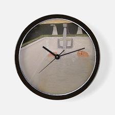 9 x 12 Bush tub Wall Clock