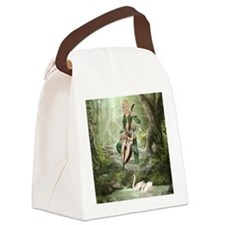 tef_Square Canvas Pillow Canvas Lunch Bag
