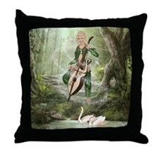 tef_Square Canvas Pillow Throw Pillow