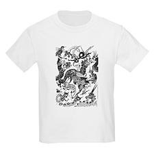 Black Multidragon T-Shirt