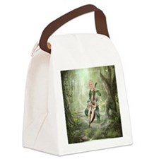 tef_box_tile_coaster_hell Canvas Lunch Bag