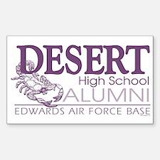 DHS Alumni Logo Rectangle Decal