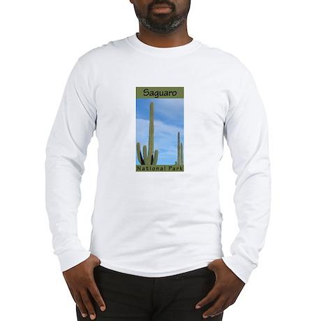 Saguaro National Park (Vertic Long Sleeve T-Shirt