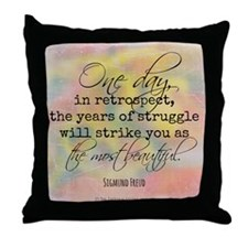 Struggle Quote Throw Pillow