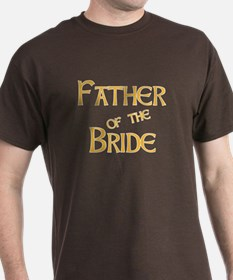 Sherbet Father of the Bride T-Shirt