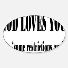 restrictionsrectangle Decal