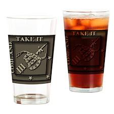 Desert CATI Drinking Glass