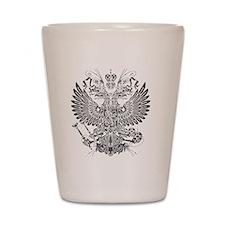 Byzantine Eagle Shot Glass