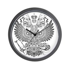 Byzantine Eagle Wall Clock