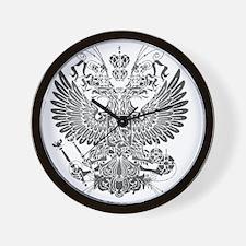 Byzantine Eagle Wall Clock