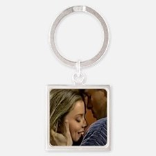 Frisco and Felicia Square Keychain