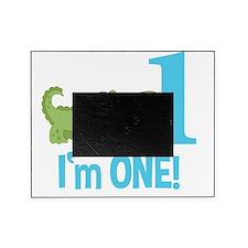 Im One Alligator Birthday Design Picture Frame
