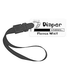Diaper Loading Luggage Tag