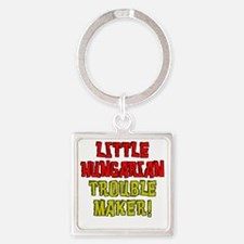 Little Hungarian Trouble Maker Square Keychain