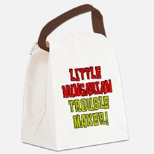 Little Hungarian Trouble Maker Canvas Lunch Bag