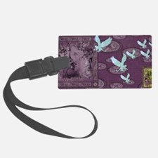 Wickedly Purple Luggage Tag