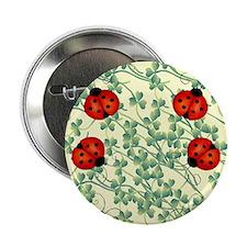 "ladybug flip flops 2.25"" Button"