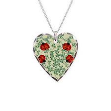 ladybug flip flops Necklace