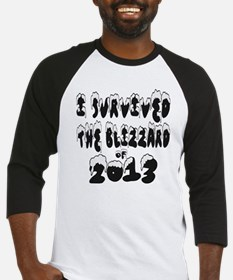 I Survived The Blizzard of 2013 Baseball Jersey