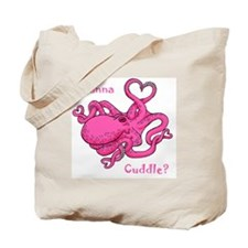 Valentine Octopus Tote Bag