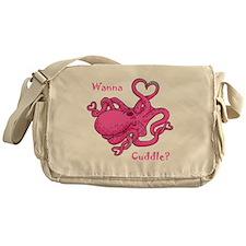 Valentine Octopus Messenger Bag