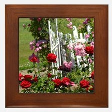 Rose Garden Framed Tile