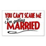 Getting Married Rectangle Sticker