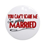 Getting Married Ornament (Round)