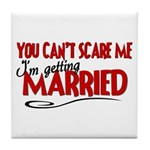 Getting Married Tile Coaster