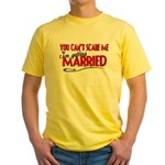 Getting Married Yellow T-Shirt
