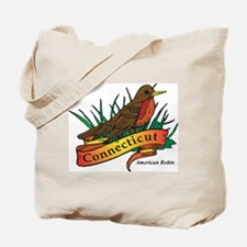 Connecticut Robin Tote Bag